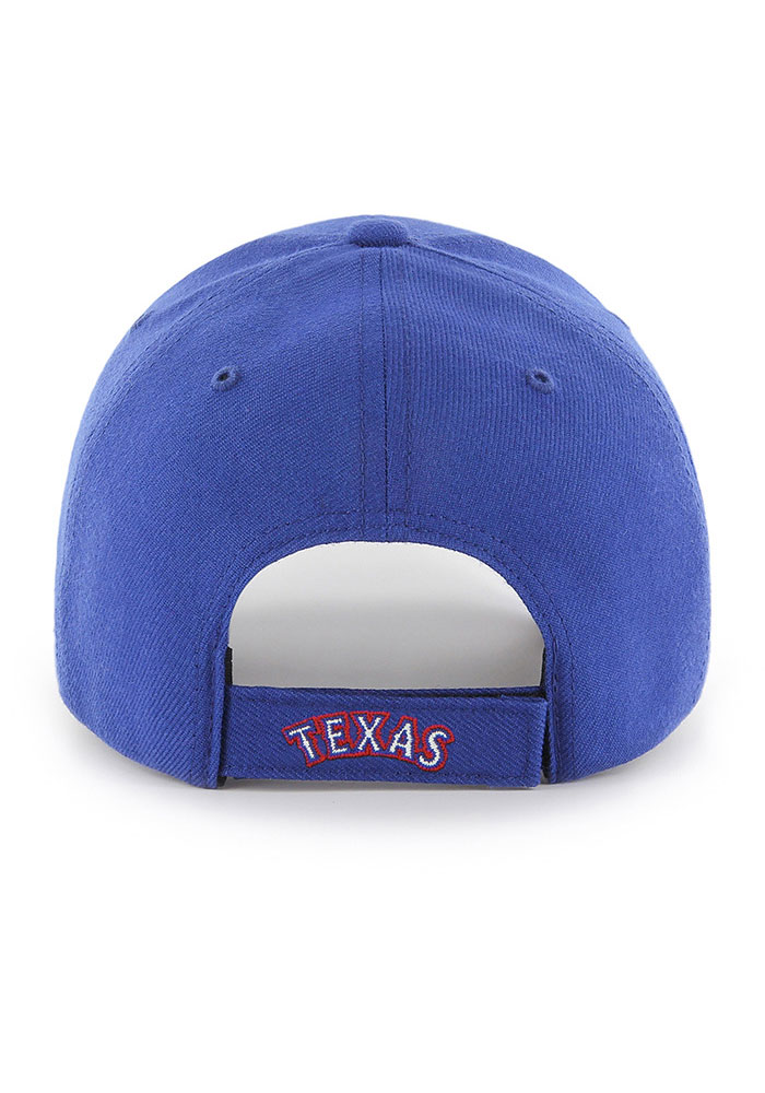 47 Texas Rangers MVP Adjustable Hat - Blue - Image 2