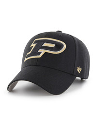 Purdue Boilermakers 47 MVP Adjustable Hat - Black