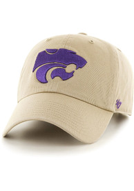 K-State Wildcats 47 Clean Up Adjustable Hat - Khaki