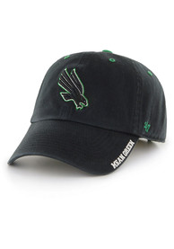 North Texas Mean Green 47 Ice Clean Up Adjustable Hat - Black