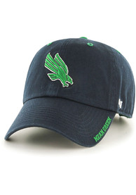 North Texas Mean Green 47 Ice Clean Up Adjustable Hat - Navy Blue