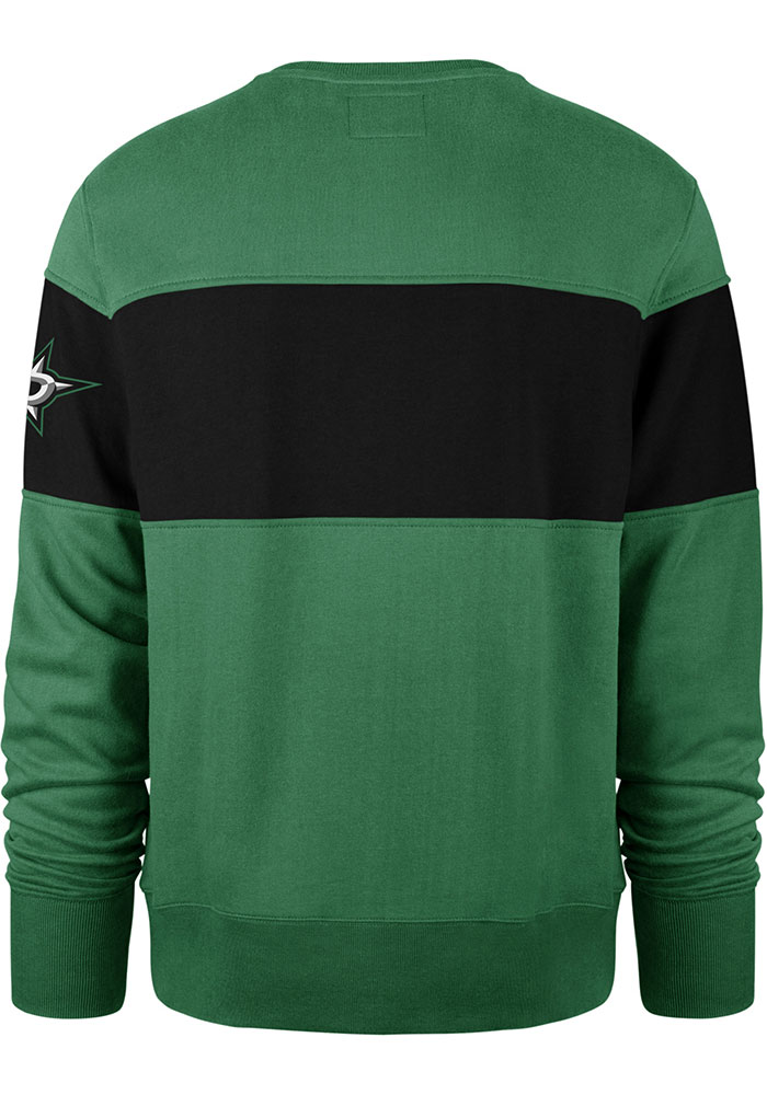 47 Dallas Stars Mens Kelly Green Interstate Long Sleeve Fashion Sweatshirt - Image 2