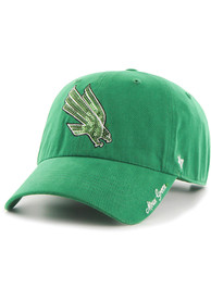 North Texas Mean Green Womens 47 Sparkle Clean Up Adjustable - Green