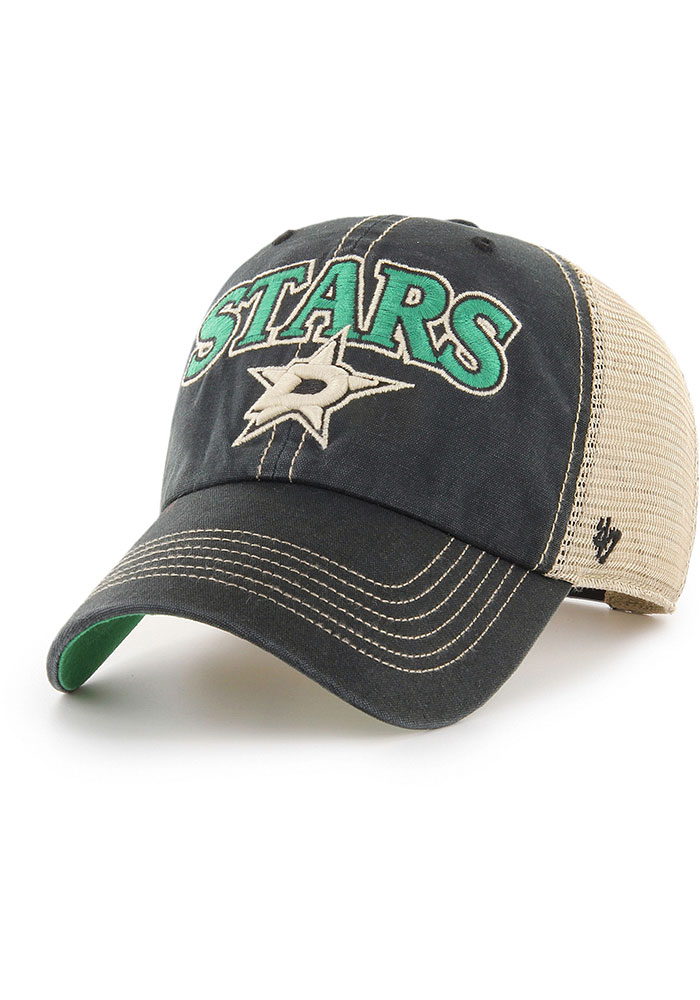 Dallas Stars 47 Tuscaloosa Clean Up Adjustable Hat - Black