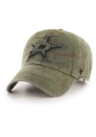Dallas Stars 47 Movement Clean Up Adjustable Hat - Green