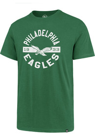 Philadelphia Eagles 47 Roundabout Super Rival T Shirt - Kelly Green