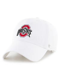 Ohio State Buckeyes 47 Clean Up Adjustable Hat - White
