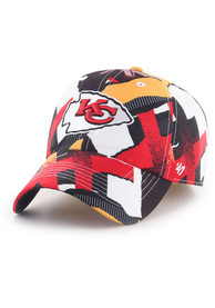 Kansas City Chiefs 47 Stepback Clean Up Adjustable Hat - Red