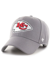 Kansas City Chiefs 47 MVP Adjustable Hat - Grey