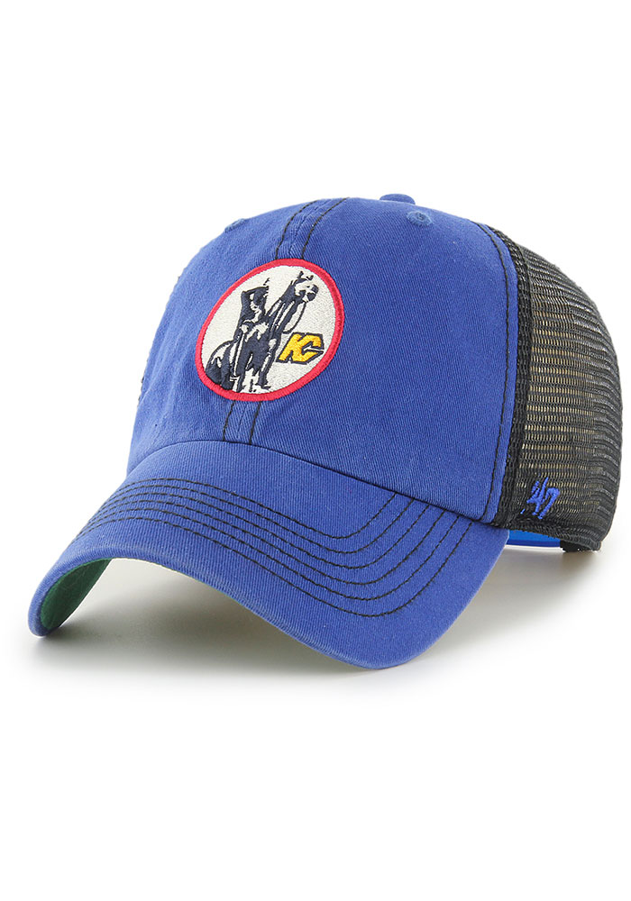 47 Kansas City Scouts Trawler Clean Up Adjustable Hat - Blue - Image 1
