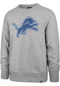 Detroit Lions 47 Imprint Headline Crew Sweatshirt - Grey