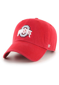 Ohio State Buckeyes 47 Clean Up Adjustable Hat - Red