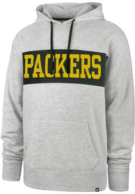 Green Bay Packers 47 Chest Pass Fashion Hood - Grey