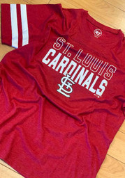 '47 St Louis Cardinals Red Battery Fashion Tee