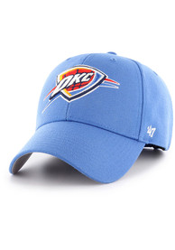Oklahoma City Thunder 47 MVP Adjustable Hat - Blue