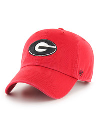 Georgia Bulldogs 47 Clean Up Adjustable Hat - Red