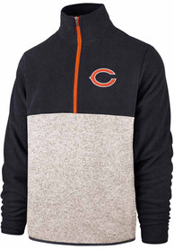 Chicago Bears 47 Kodiak 1/4 Zip Fashion - Navy Blue