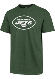 New York Jets 47 Primary Logo Club T Shirt - Green