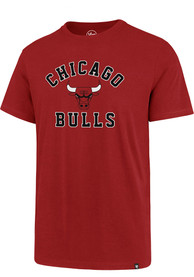 Chicago Bulls 47 Varsity Arch Rival T Shirt - Red