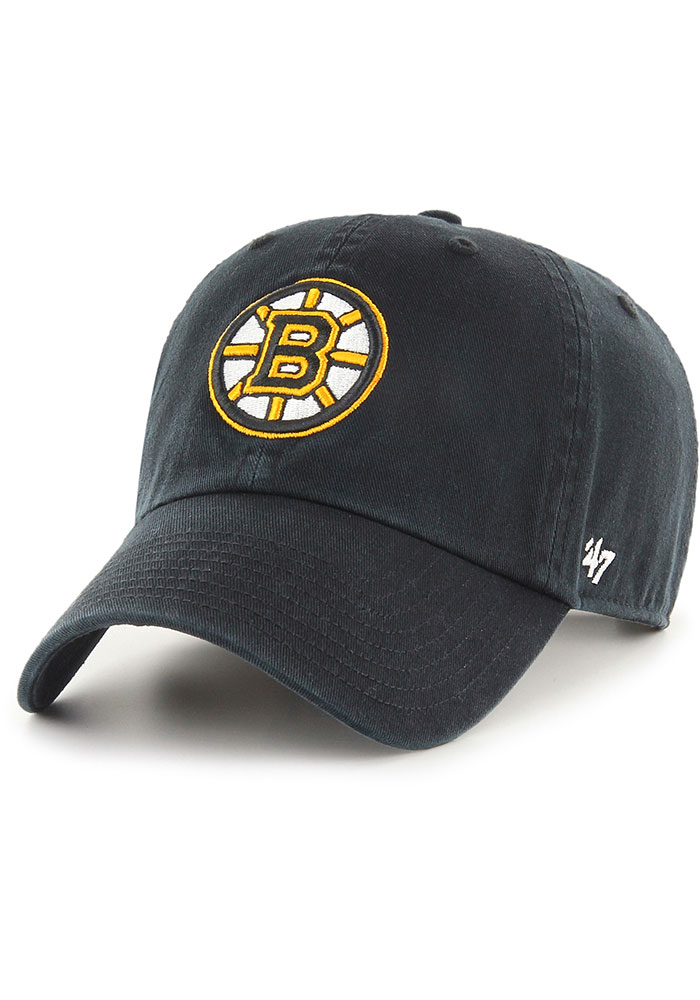 47 Boston Bruins Clean Up Adjustable Hat - Black - Image 1