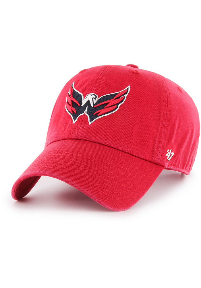 47 Washington Capitals Clean Up Adjustable Hat - Red - Image 1