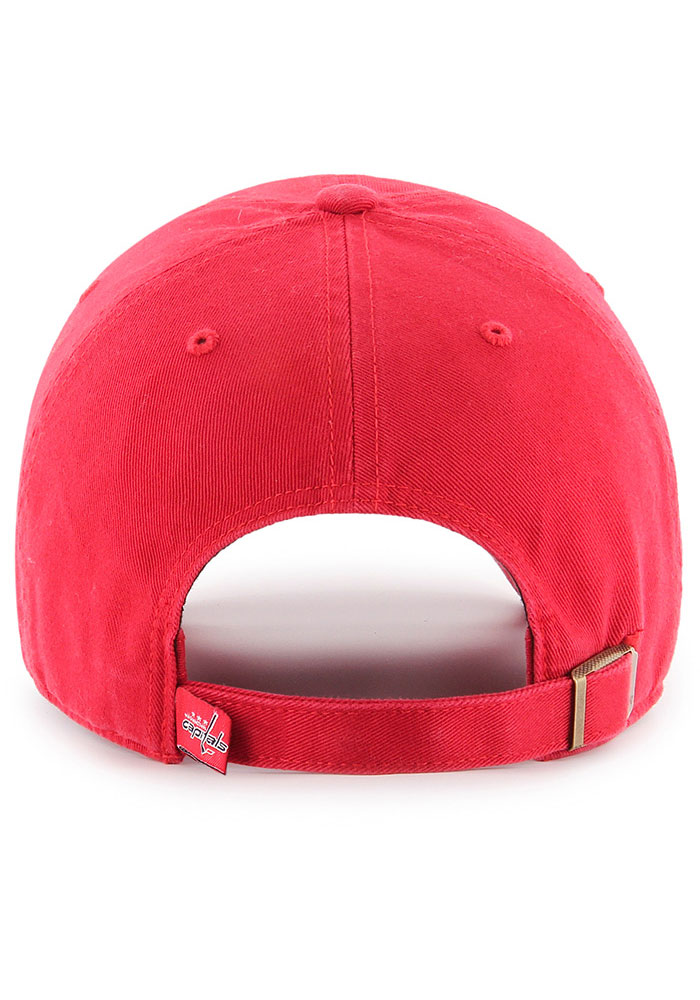 47 Washington Capitals Clean Up Adjustable Hat - Red - Image 2