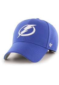 Tampa Bay Lightning 47 MVP Adjustable Hat - Blue