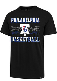 Philadelphia 76ers 47 City Series Rival T Shirt - Black