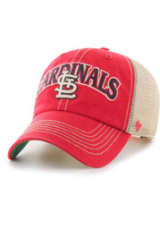 47 St Louis Cardinals Tuscaloosa Clean Up Adjustable Hat - Red