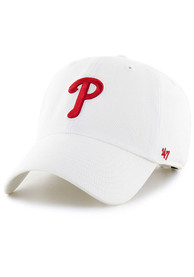 47 Philadelphia Phillies Clean Up Adjustable Hat - White