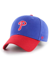 47 Philadelphia Phillies Blue 2T Short Stack MVP Youth Adjustable Hat