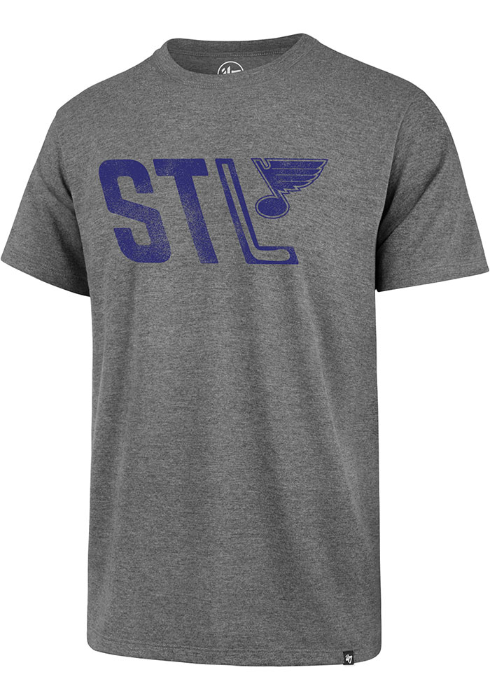 '47 St Louis Blues Grey Regional Club Tee
