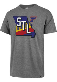 '47 St Louis Blues Grey Regional State Club Tee