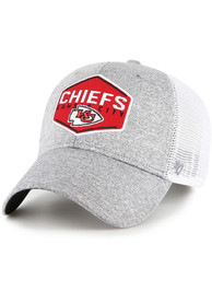 Kansas City Chiefs 47 Hitch Contender Flex Hat - Grey