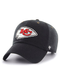 Kansas City Chiefs 47 Carhartt OTC Clean Up Adjustable Hat - Black