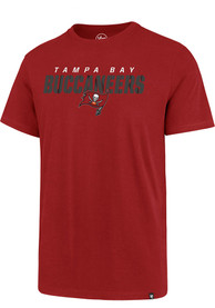 Tampa Bay Buccaneers 47 Traction Super Rival T Shirt - Red
