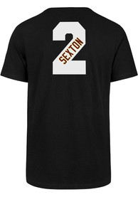 Colin Sexton Cleveland Cavaliers 47 City Series Name And Number T-Shirt - Black