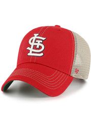 St Louis Cardinals 47 Trawler Clean Up Adjustable Hat - Red