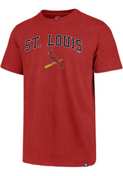 St Louis Cardinals 47 Arch Game Club T Shirt - Red