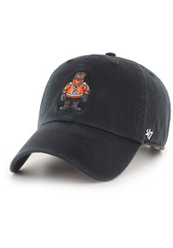 Gritty Philadelphia Flyers 47 Mascot Clean Up Adjustable Hat - Black