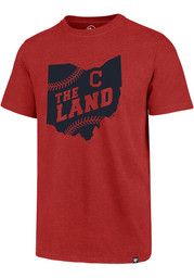 47 Cleveland Indians Red Regional Club Short Sleeve T Shirt