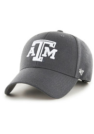 Texas A&M Aggies 47 MVP Adjustable Hat - Charcoal