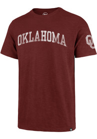 47 Oklahoma Sooners Crimson Arch Fashion Tee