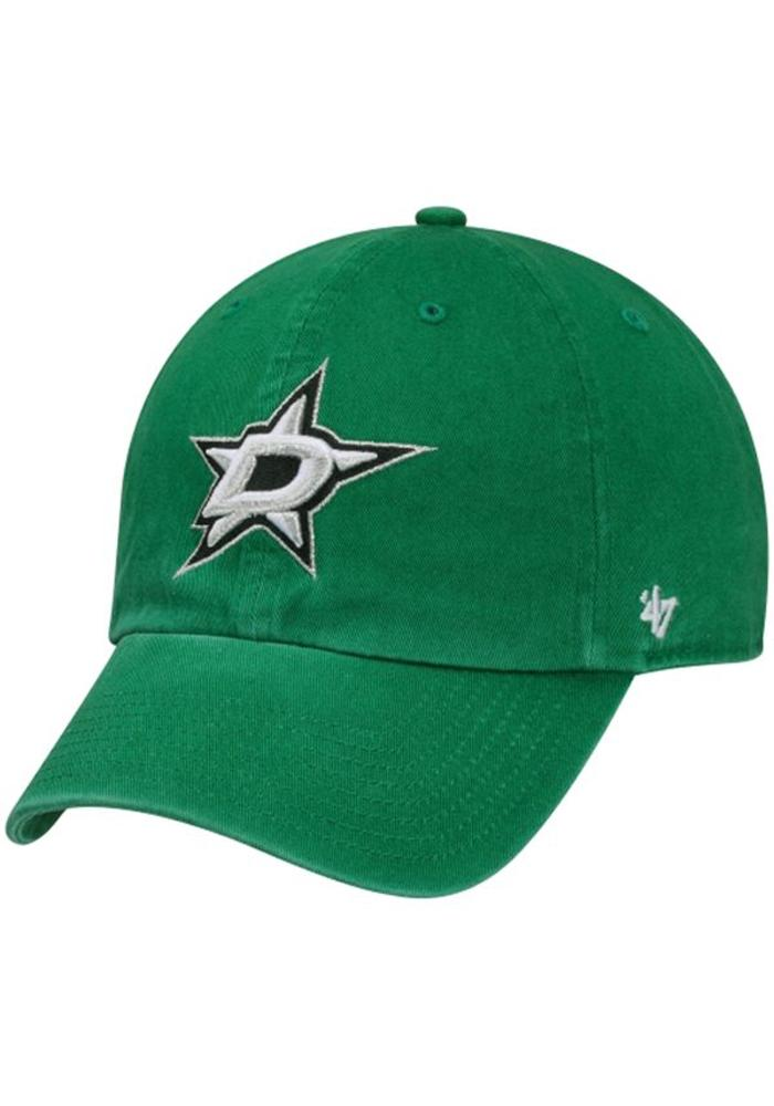 '47 Dallas Stars Clean Up Adjustable Hat - Green - Image 1