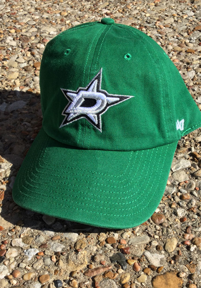 '47 Dallas Stars Clean Up Adjustable Hat - Green - Image 2