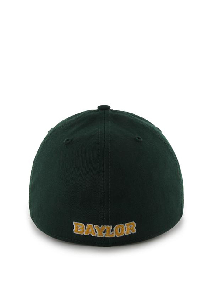 '47 Baylor Bears Mens Green 47 Franchise Fitted Hat - Image 2