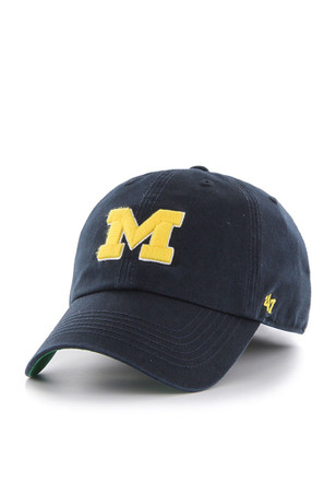 Michigan Wolverines '47 Mens Navy Blue 47 Franchise Fitted Hat