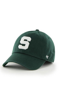 Michigan State Spartans 47 47 Franchise Fitted Hat - Green