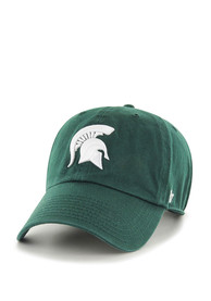 47 Michigan State Spartans Clean Up Adjustable Hat - Green