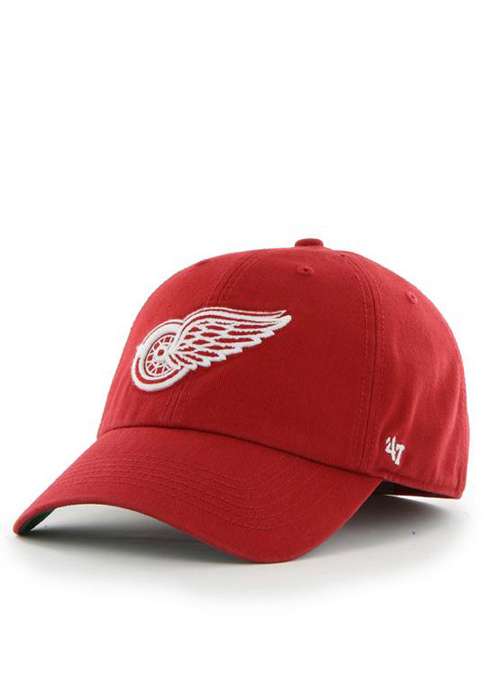 47 Detroit Red Wings Mens Red 47 Franchise Fitted Hat - Image 1